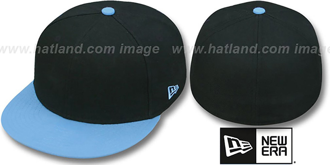 New Era '2T 59FIFTY-BLANK' Black-Sky Fitted Hat