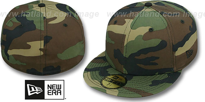 New Era  59FIFTY-BLANK  Army Camo Fitted Hat 7f4bfa0e0a97