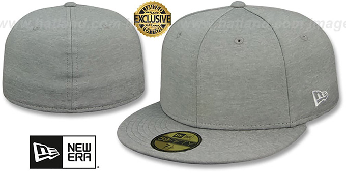 5921823d22f9f New Era  59FIFTY-BLANK  Light Grey Shadow Tech Fitted Hat