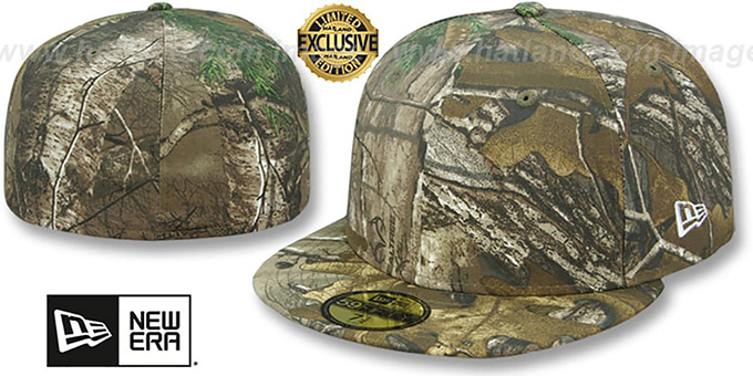 New Era  59FIFTY-BLANK  Realtree Camo Fitted Hat 80911fe5ff7