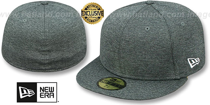 New Era  59FIFTY-BLANK  Dark Grey Shadow Tech Fitted Hat fe361820885