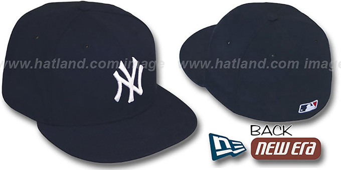 New York Yankees 1999-2006 'GAME' Hat by New Era : pictured without stickers that these products are shipped with