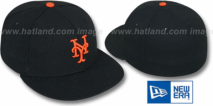 black new york giants baseball cap hat uk cooperstown fitted era