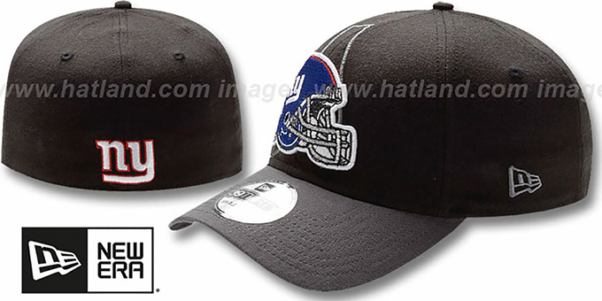 7e80bb20f60 ... New Era. NY Giants  NFL BLACK-CLASSIC FLEX  Hat by ...