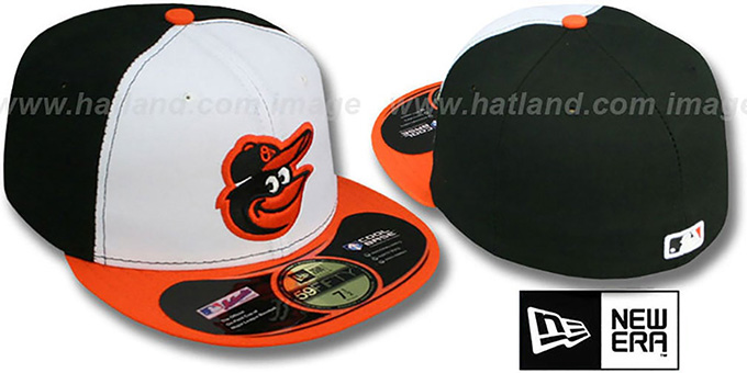 Orioles 'PERFORMANCE HOME' Hat by New Era : pictured without stickers that these products are shipped with