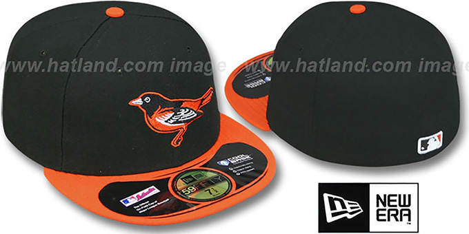 Orioles 2011 'PERFORMANCE GAME' Hat by New Era : pictured without stickers that these products are shipped with