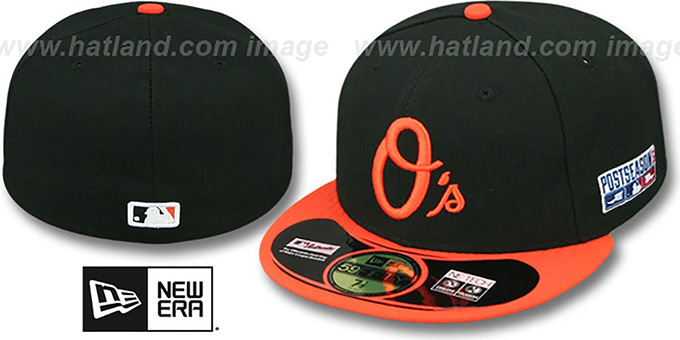 Orioles '2014 PLAYOFF ALTERNATE' Hat by New Era : pictured without stickers that these products are shipped with