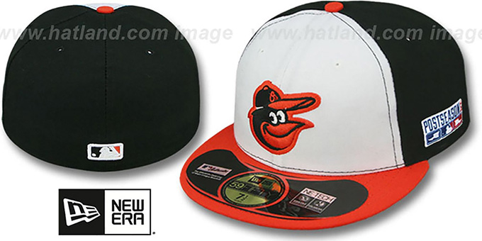 Orioles '2014 PLAYOFF HOME' Hat by New Era : pictured without stickers that these products are shipped with
