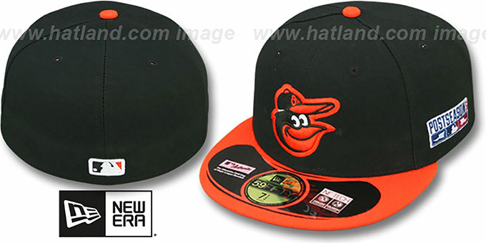 Orioles '2014 PLAYOFF ROAD' Hat by New Era : pictured without stickers that these products are shipped with