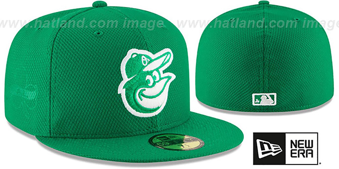 Orioles '2016 ST PATRICKS DAY' Hat by New Era : pictured without stickers that these products are shipped with