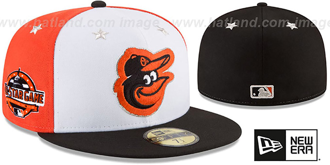 4378af0ef34ca2 Baltimore Orioles 2018 MLB ALL-STAR GAME Fitted Hat