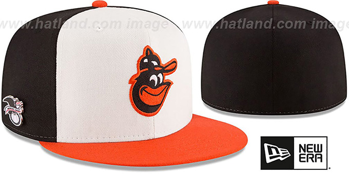 best service 294db ca749 Orioles AL EAST HERITAGE PIN Fitted Hat by New Era
