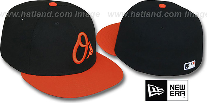 Orioles 'PERFORMANCE ALTERNATE' Hat by New Era : pictured without stickers that these products are shipped with