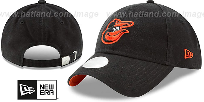 Orioles 'WOMENS PREFERRED PICK STRAPBACK' Black Hat by New Era