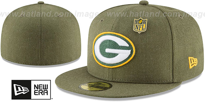 Packers 'HEATHERED-PIN' Green Fitted Hat by New Era