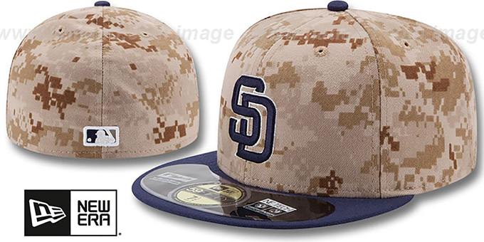 San Diego Padres 2014 STARS N STRIPES Fitted Hat by New Era 9f41494b92c