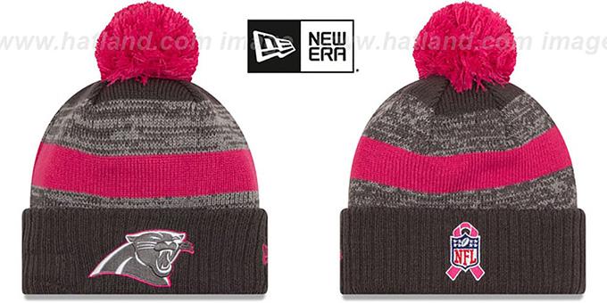 Panthers  2016 BCA STADIUM  Knit Beanie Hat by New Era b10fe7080