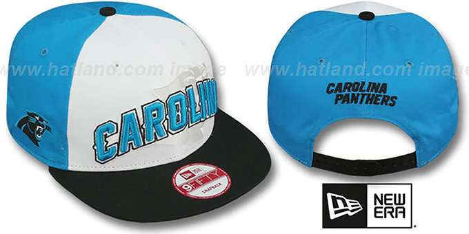Panthers 'NFL ONFIELD DRAFT SNAPBACK' Hat by New Era : pictured without stickers that these products are shipped with