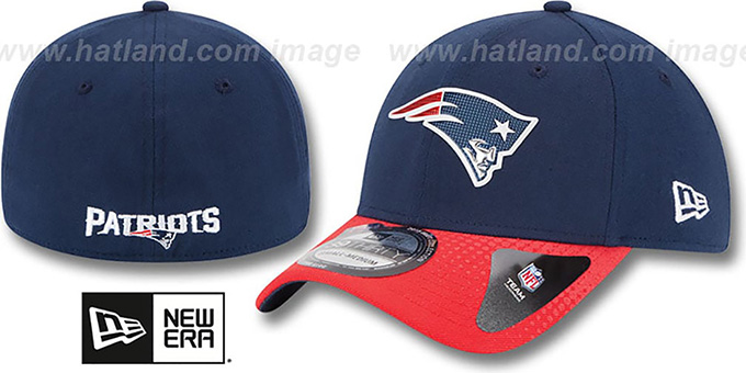 Patriots '2015 NFL DRAFT FLEX'  Hat by New Era : pictured without stickers that these products are shipped with