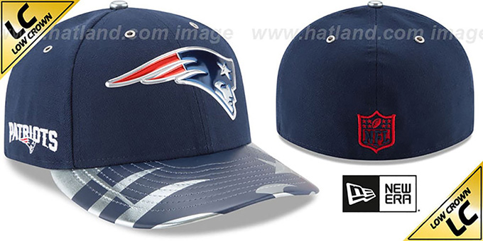 ... New Era. video available. Patriots  2017 LOW-CROWN SPOTLIGHT  Fitted Hat  by ... a9544edf4