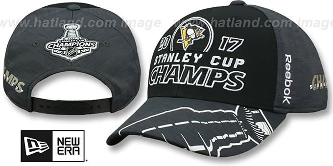 ddbaeb4e9 Pittsburgh Penguins 2017 STANLEY CUP CHAMPS Hat by Reebok