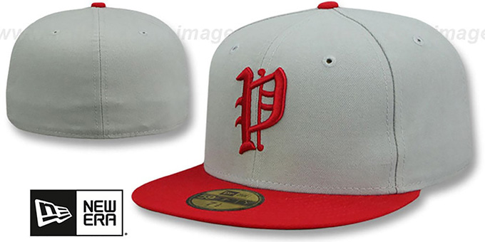 Phillies 1925 'COOP' Fitted Hat by New Era : pictured without stickers that these products are shipped with