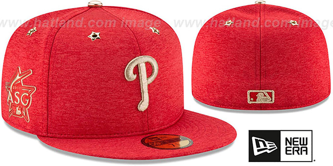 56319c9c81fb5 Philadelphia Phillies 2017 MLB ALL-STAR GAME Fitted Hat