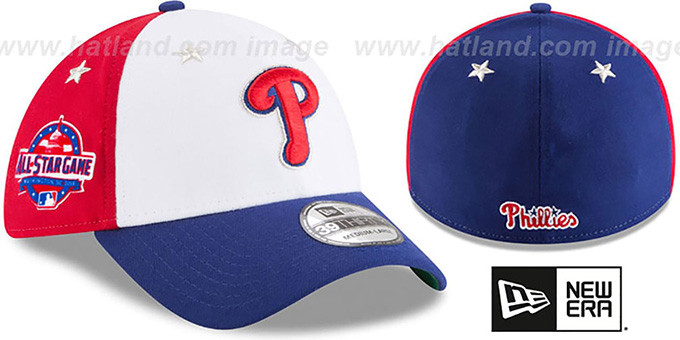 Philadelphia Phillies 2018 MLB ALL-STAR GAME FLEX Hat 985747cc74f