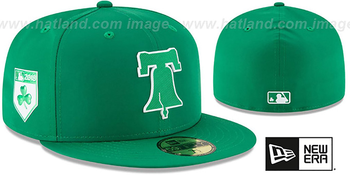 purchase cheap da8d5 468bb Phillies  2018 ST PATRICKS DAY  Hat by New Era