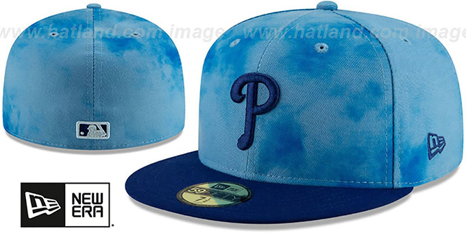 Phillies '2019 FATHERS DAY' Fitted Hat by New Era
