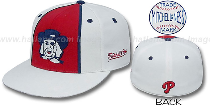 Phillies ALTERNATE 'ZELLA' Hat by Mitchell and Ness : pictured without stickers that these products are shipped with