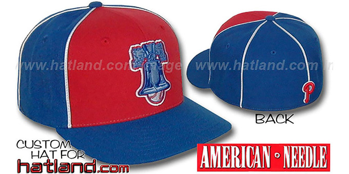 Phillies Cooperstown 'BACKTRAX' Hat by Amercan Needle : pictured without stickers that these products are shipped with