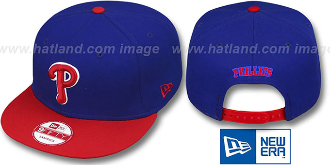 Phillies 'REPLICA ALTERNATE SNAPBACK' Hat by New Era : pictured without stickers that these products are shipped with