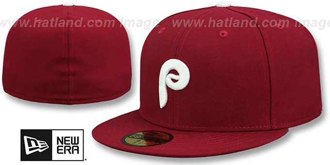 Phillies 'SCHMIDT' Hat by New Era : pictured without stickers that these products are shipped with