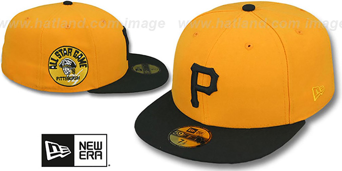 b754f1ffeb3 Pirates 1974  SIDE ALL-STAR-PATCH  Fitted Hat by New Era