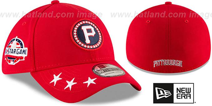 huge discount 5cff4 c4fbb ... New Era. Pirates  2018 MLB ALL-STAR WORKOUT FLEX  Hat by ...