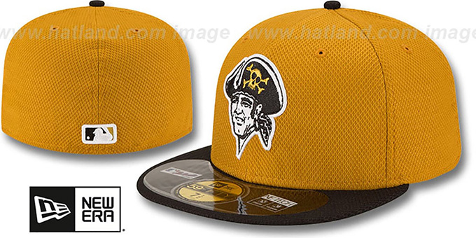 Pirates 'ALTERNATE DIAMOND-TECH BP' Hat by New Era : pictured without stickers that these products are shipped with