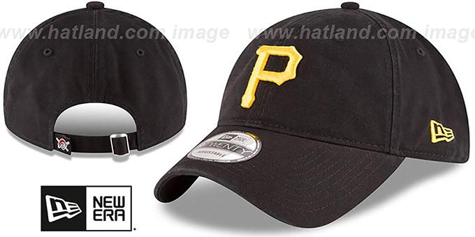 d398fd52390 Pirates  CORE-CLASSIC STRAPBACK  Black Hat by New Era