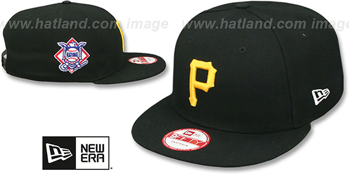 Pirates 'LEAGUE REPLICA GAME SNAPBACK' Hat by New Era : pictured without stickers that these products are shipped with
