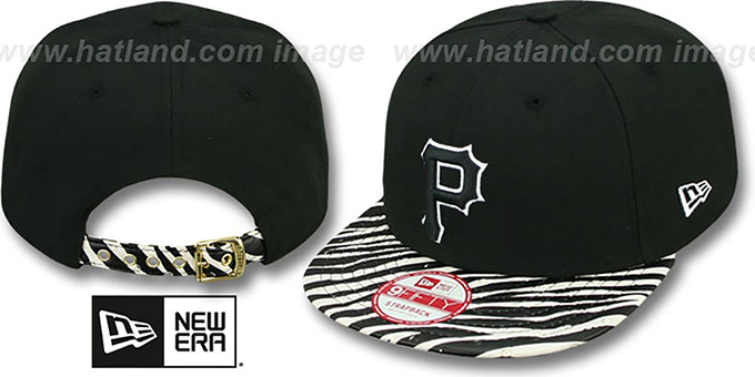 Pirates 'OSTRICH-ZEBRA STRAPBACK' Hat by New Era