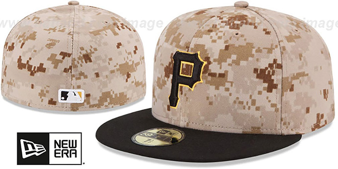 Pirates 'PERFORMANCE ALTERNATE-3' Hat by New Era : pictured without stickers that these products are shipped with