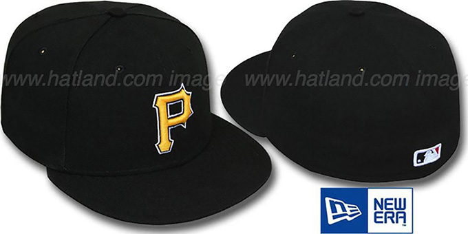 Pirates 'PERFORMANCE ALTERNATE' Hat by New Era : pictured without stickers that these products are shipped with