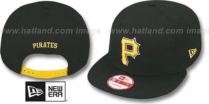 Pirates 'REPLICA ALTERNATE SNAPBACK' Hat by New Era : pictured without stickers that these products are shipped with