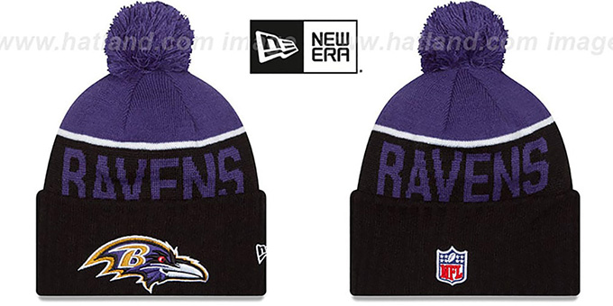 ... purchase ravens 2015 stadium black purple knit beanie hat by new era  6c193 bad7d a8c5f6617