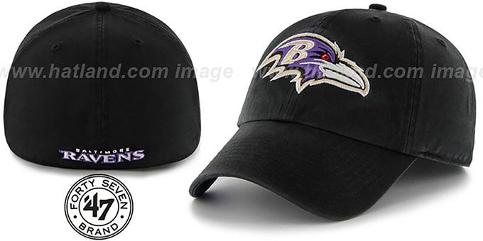 47764d39a097fc Baltimore Ravens NFL FRANCHISE Black Hat by 47 Brand. Ravens 'NFL  FRANCHISE' Black Hat by ...