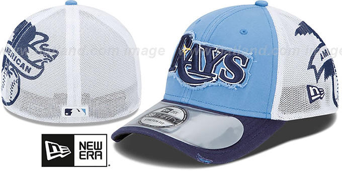 Rays '2013 CLUBHOUSE' 39THIRTY Flex Hat by New Era : pictured without stickers that these products are shipped with