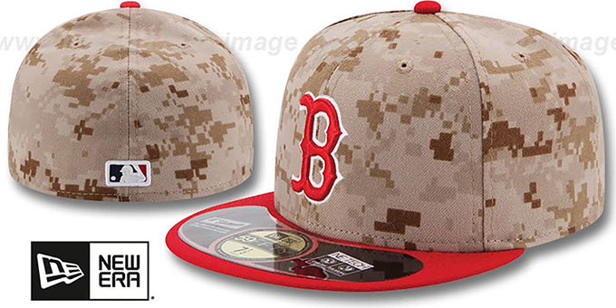 Red Sox '2014 STARS N STRIPES' Fitted Hat by New Era : pictured without stickers that these products are shipped with