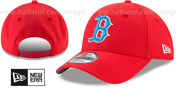 Red Sox '2017 LITTLE-LEAGUE 940 SNAPBACK' Red Hat by New Era : pictured without stickers that these products are shipped with