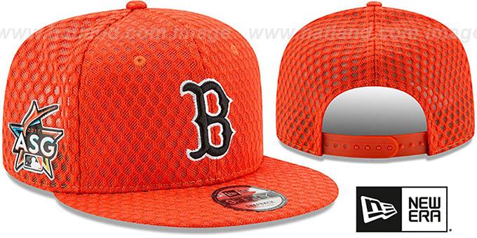 Red Sox  2017 MLB HOME RUN DERBY SNAPBACK  Orange Hat by New Era ab9da63b009d