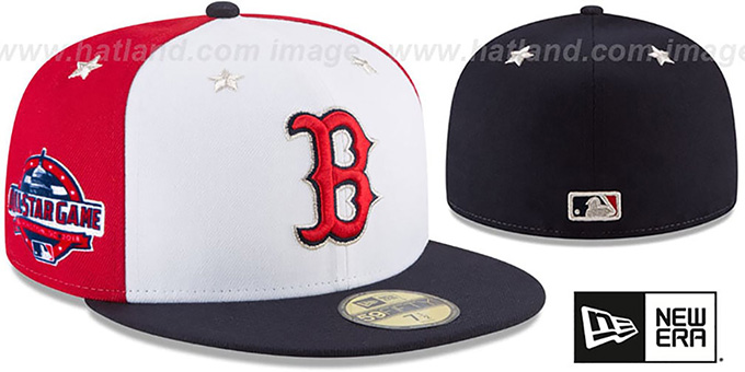 84ccadb8c ... ireland red sox 2018 mlb all star game fitted hat by 8ebf9 951d0
